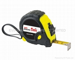 Rubber Covered Steel Tape Measure