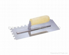 Plastering Trowel with Wooden Handle
