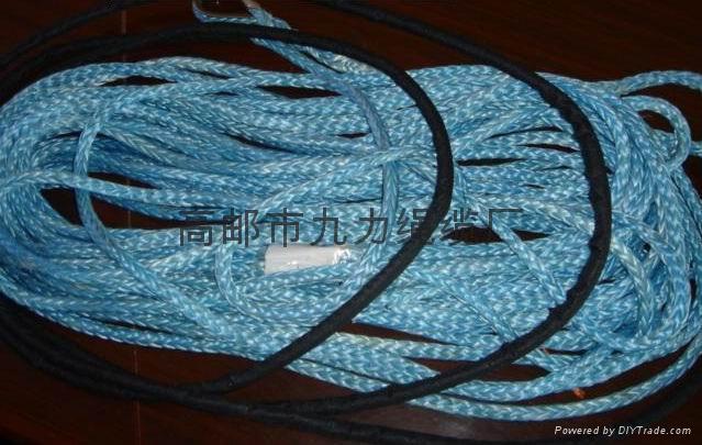 供應高分子電動絞盤配套纜繩 1