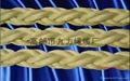 高分子聚乙烯八股船用纜繩