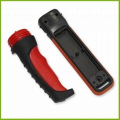【双色成型】手电筒外壳  双色塑料制品