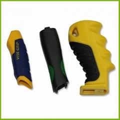 便携式手电筒塑料件/手电筒外壳【双色注塑加工】