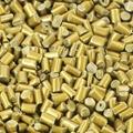 高光泽高分散性PP/PE红金色母粒