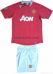 2011-2012 New Season English F. A. Premier League Soccer Jerseys and Shorts