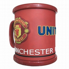Sports Plastic Cup(Sports Mug)-Manchester United