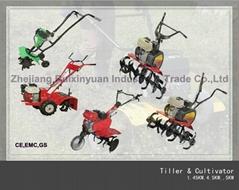 Garden Tiller ,Mini Cultivator ,Garden Tractor (1.7HP,6.5HP,7.0HP)