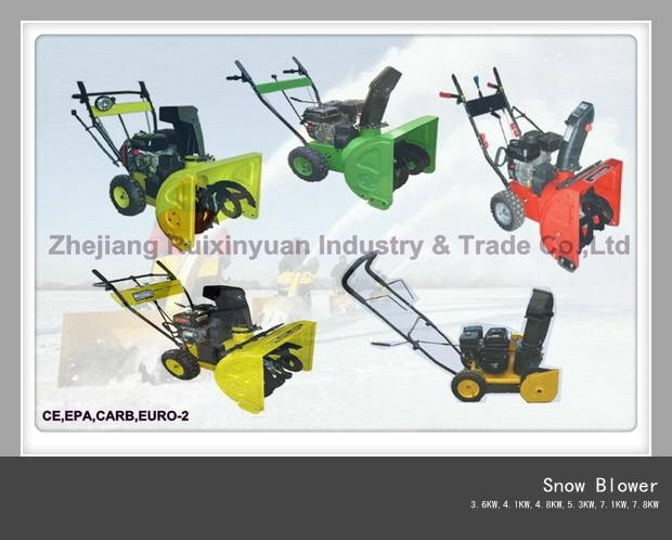 Snow Blower,Snow Thrower,Snow Sweeper (3.6KW - 7.8KW) 1