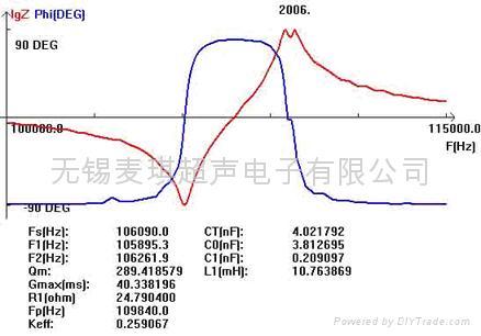 双频超声波换能器  2