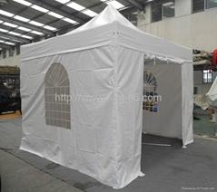 Hex fold tent
