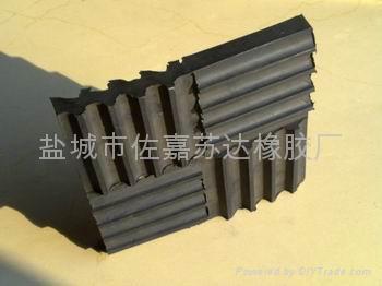 立式水泵隔振SD型橡胶隔振垫 2