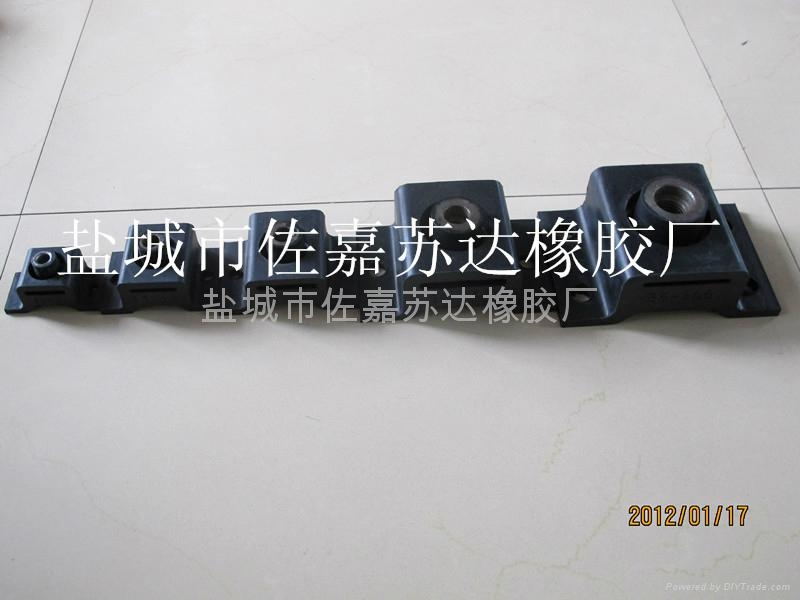 液压设备专用BE120橡胶减震器 4