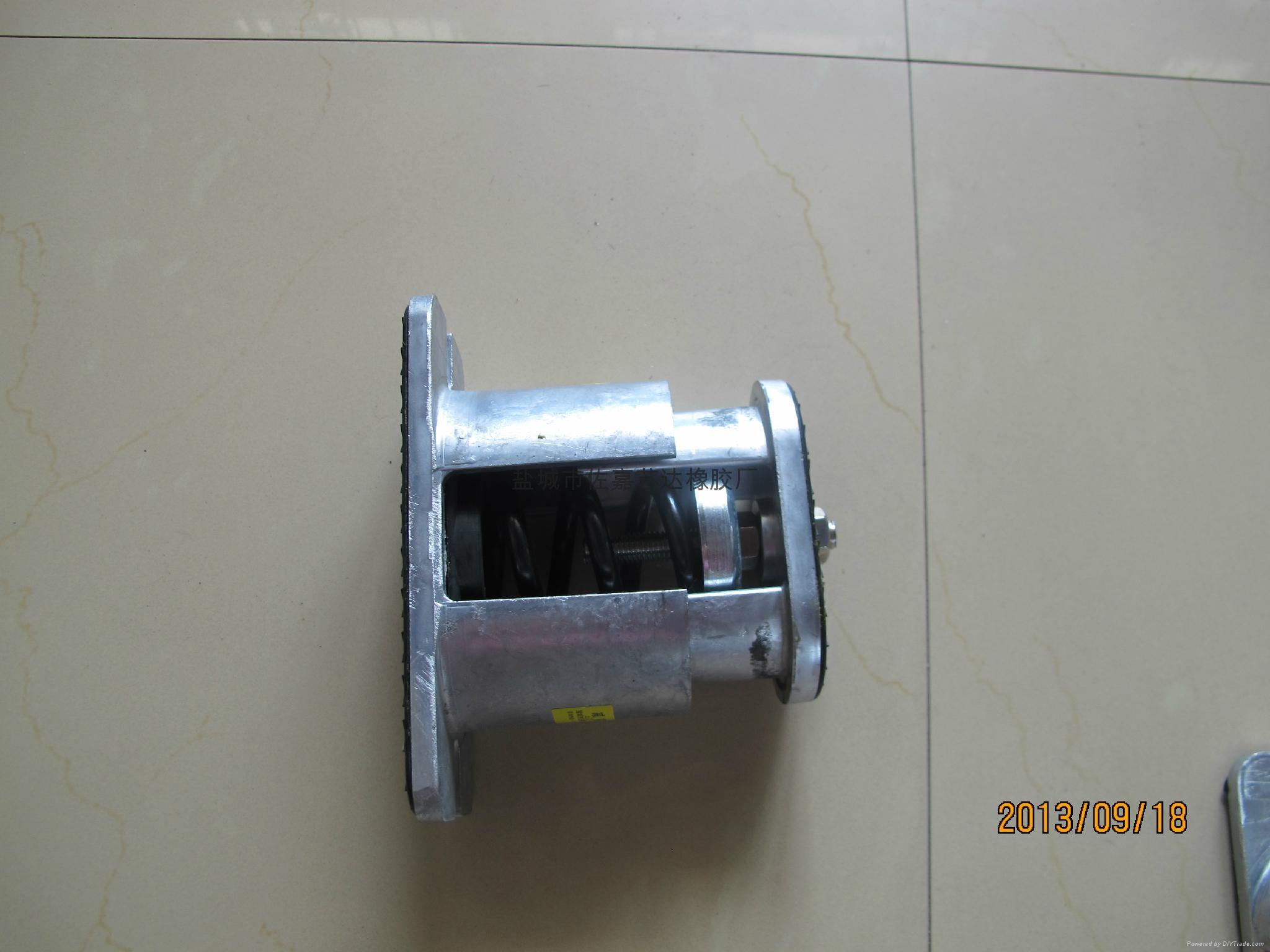 JB型风冷热泵机组底座阻尼弹簧减震器 2
