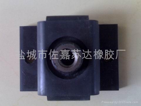 液压设备专用BE120橡胶减震器 2