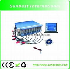 8 Channels Battery Analyzer (0.002-1mA, up to 5V)