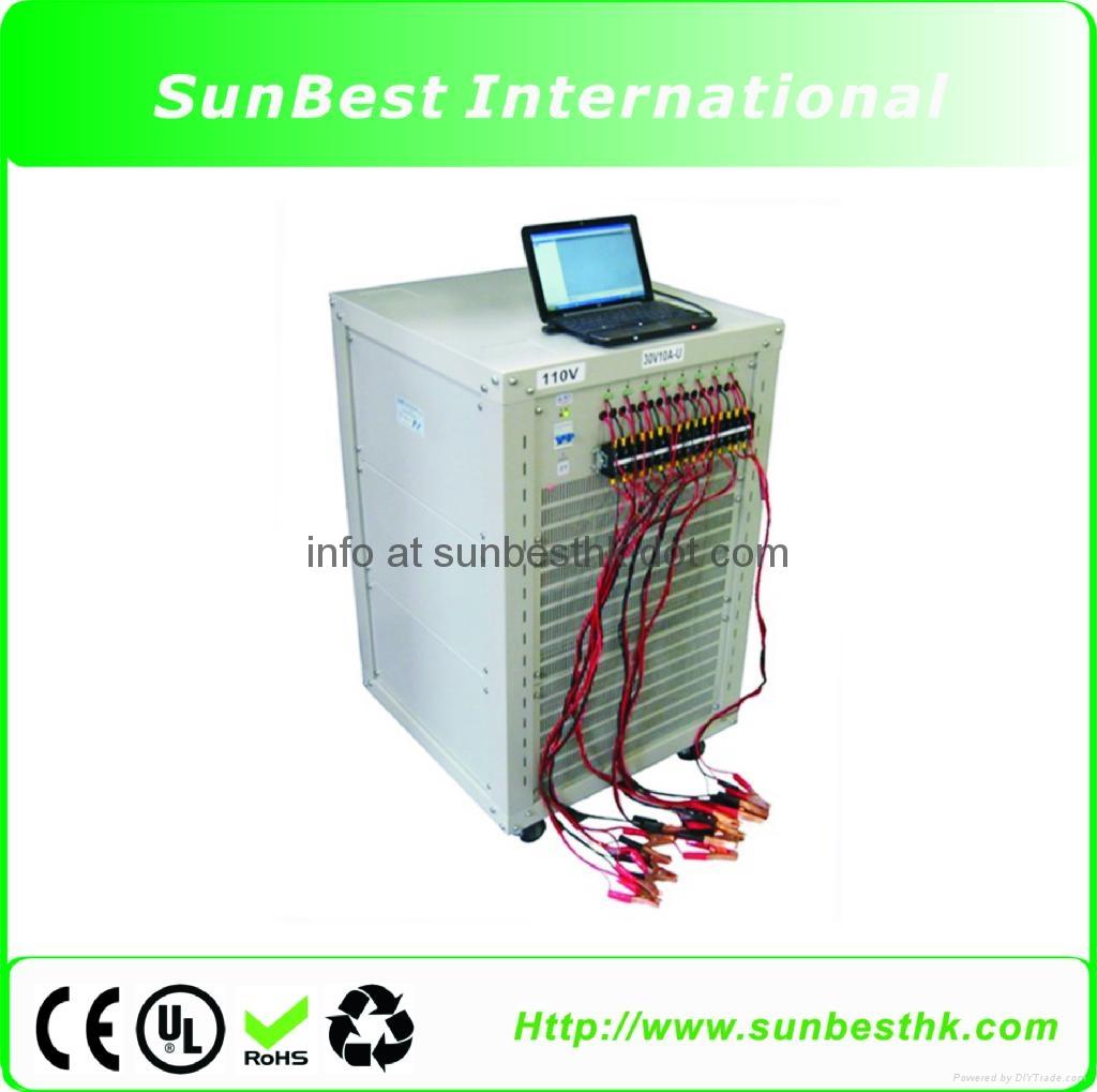 8-Channels-Battery-Analyzer (10A30V/channel, 2400W)