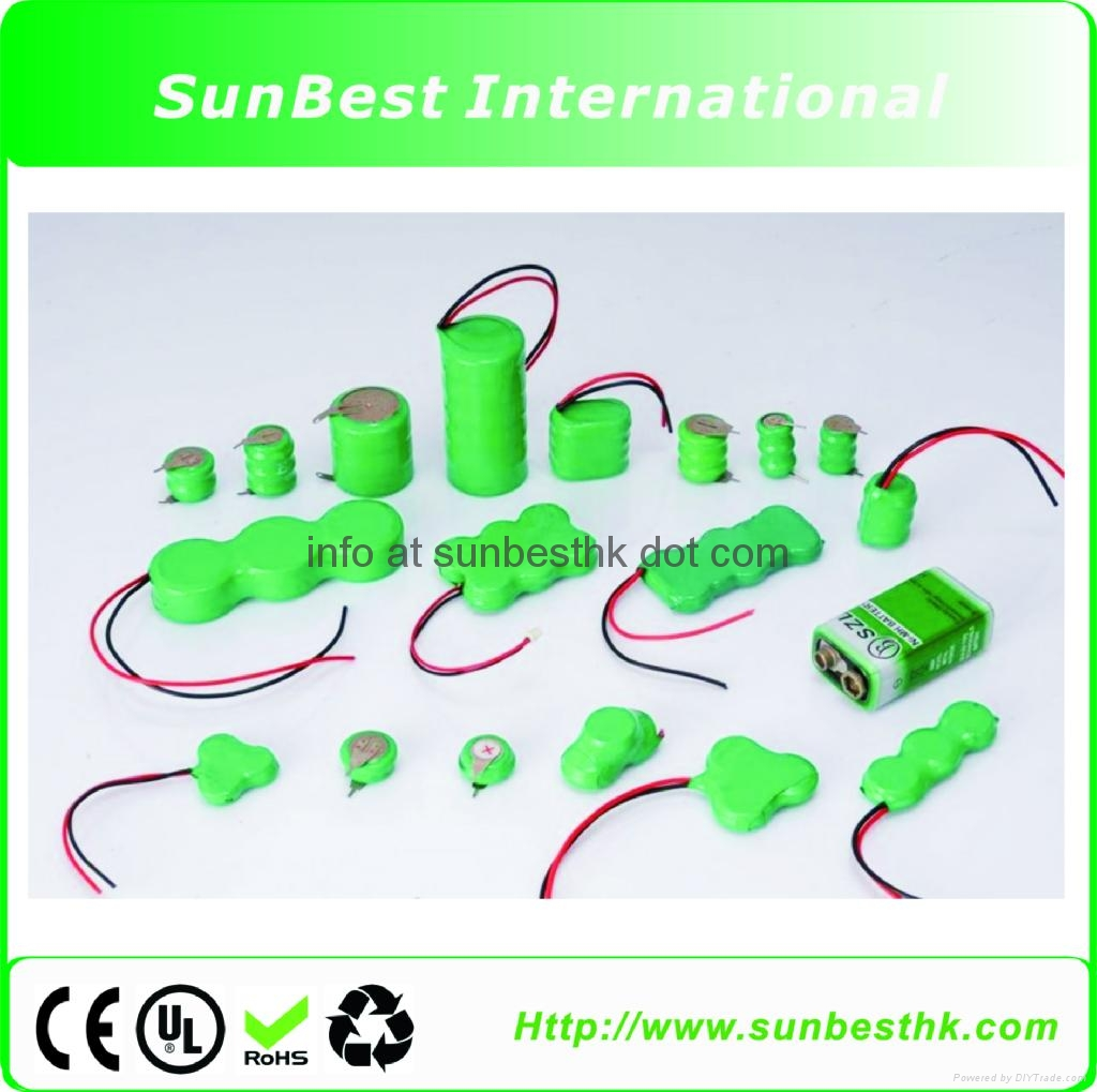 Ni-MH Button-Cell-Rechargeable-Batteries