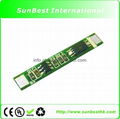 Protection Circuit Module (PCB) for 3.7V of Li-Ion Battery (2.0A limit)