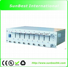 8 Channels Battery Analyzer (0.1-10 mA up to 5V)