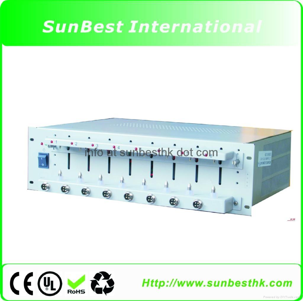 Battery-Analyzer-5V3A: Computerized 8 Channels (6-3000mA, up to 5V)