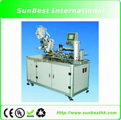 Four Sides Automatic Label Machine For Mobile Battery