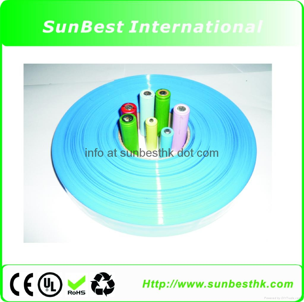 nvironmental Protection PVC Heat Shrinkable Tubes