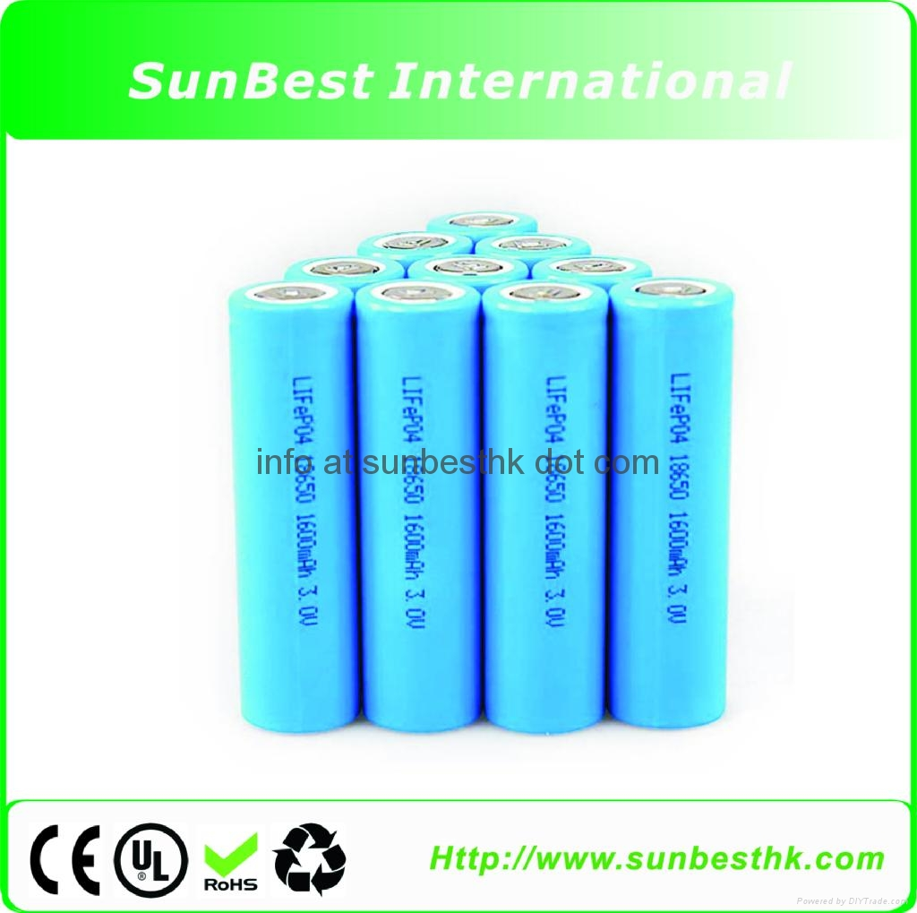 2200MAH Li-ion Cylindrical Batteries 18650 Cell
