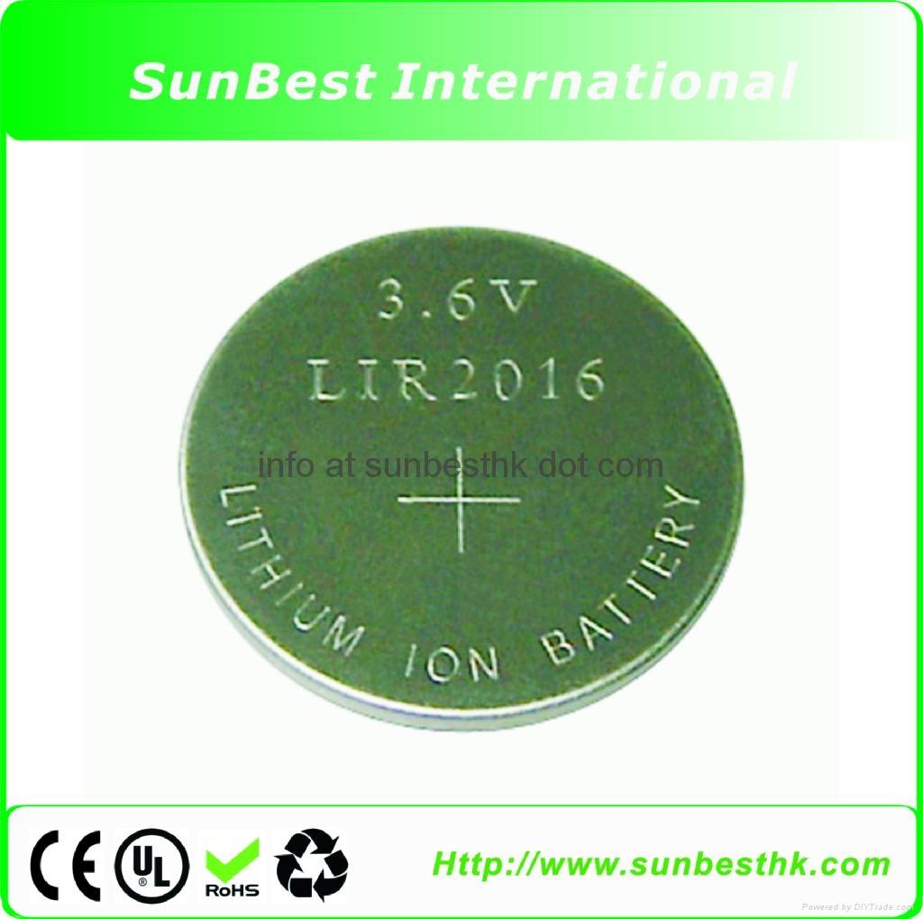 LIR-Series-Li-ion-Button-Cells