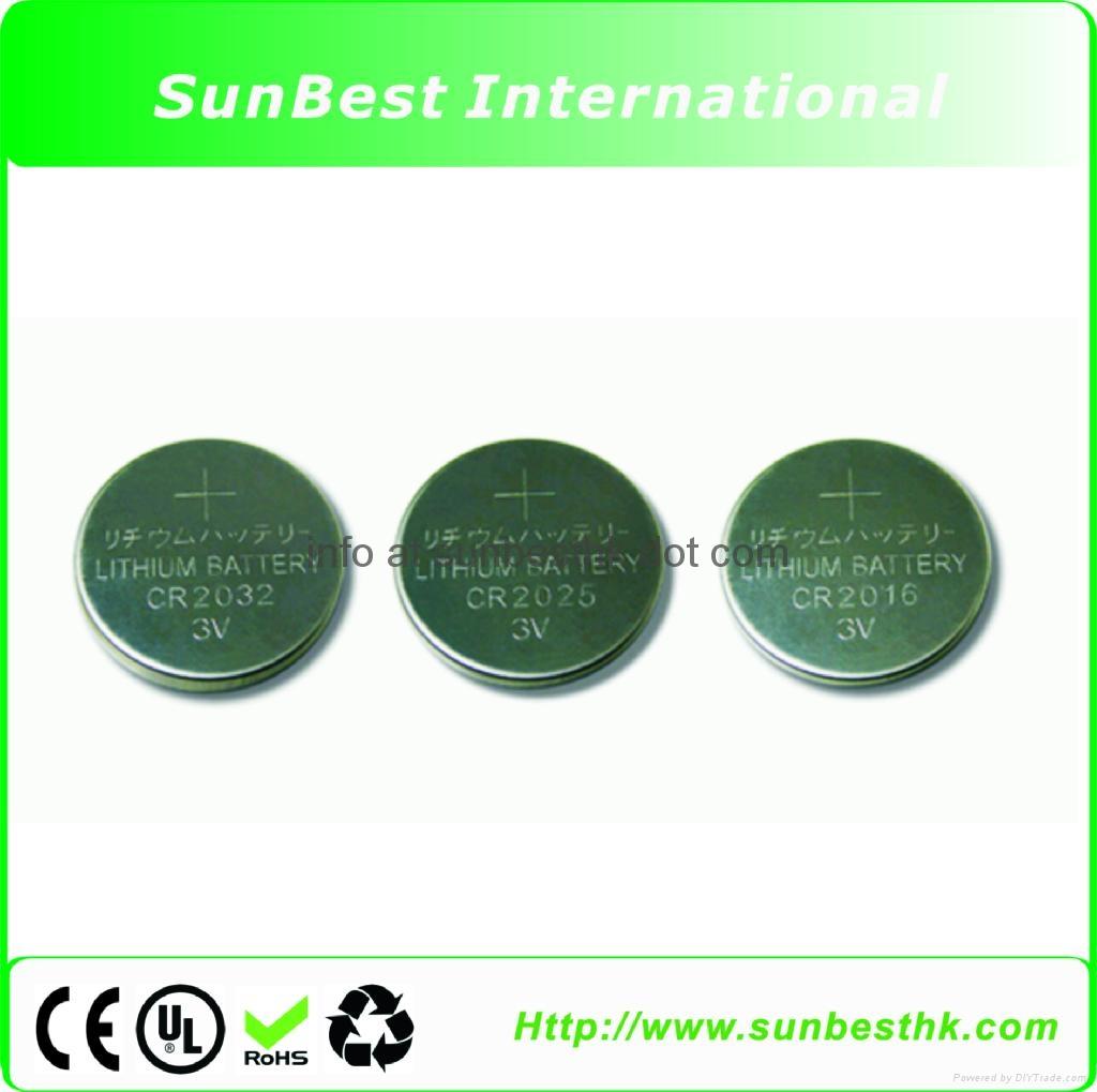 CR-Series-Li/MnO2-Button-Cell