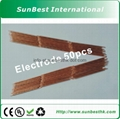 Red-Copper-Electrodes(Φ3mm* 80mm Length) For Battery Spot Welder