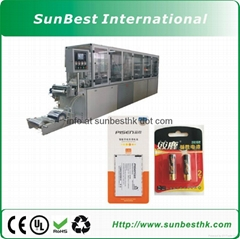 Automatic Battery Paper  Plastic Packing