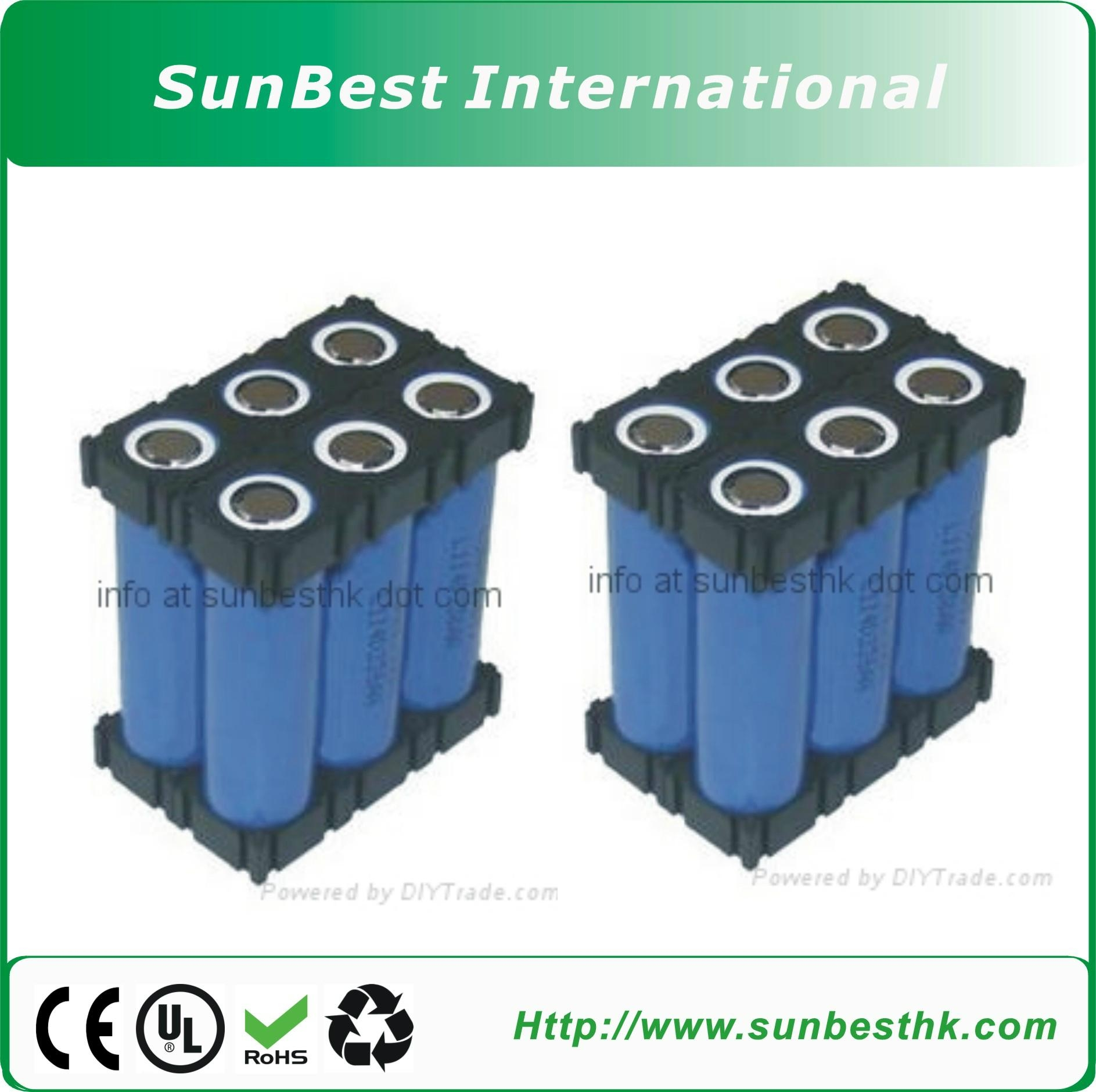 3-cell 18650 Unlimited Expandable Battery Holder