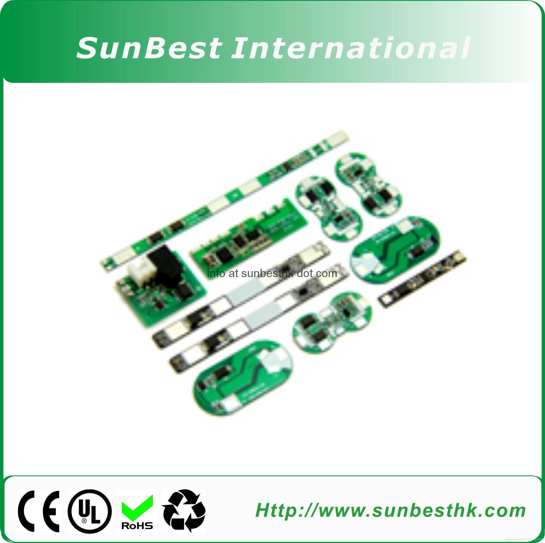 Protection Circuit Module (PCM) For 7.4V  Li-ion/Li-Polymer Battery 2S Packs