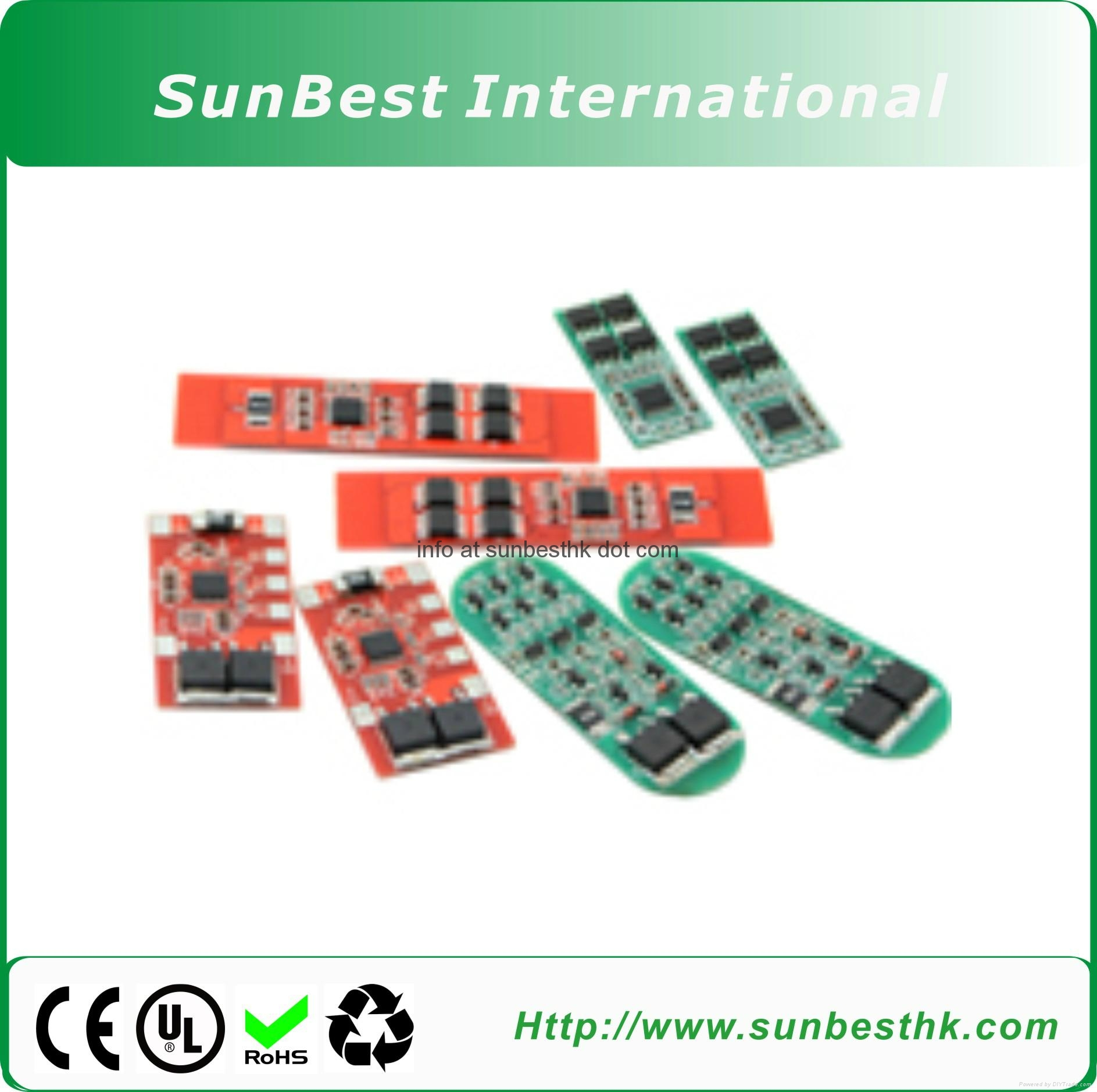 BEST-3/4 CELLS-REV3 BMS For 11.1V-14.8V Li-ion Li-polymer Lifepo4 Battery Pack