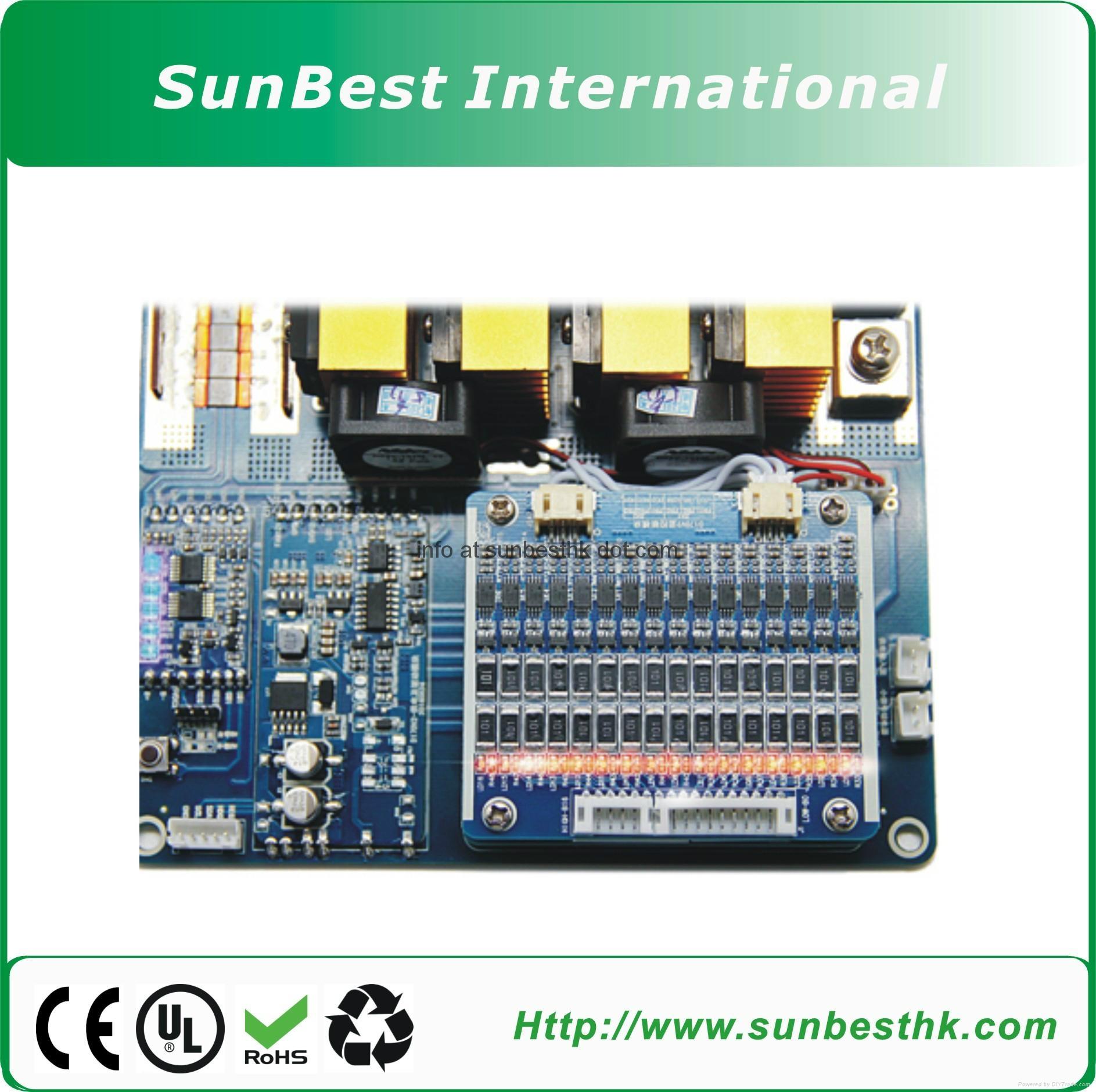 Battery-Management-System(BMS) 44.4V-12S-Li-ion-Li-Polymer-Battery