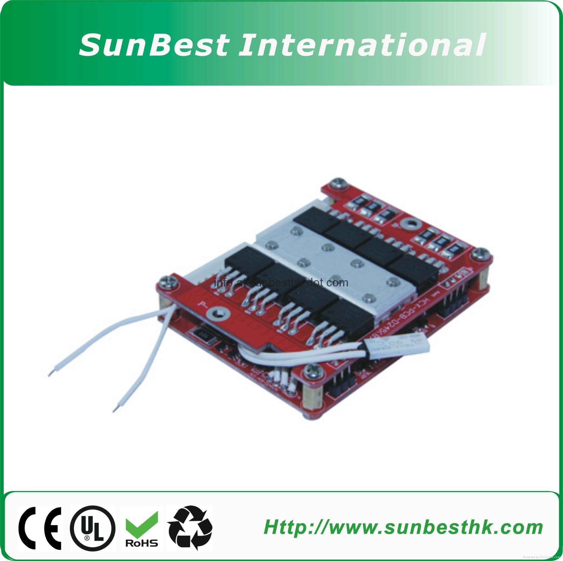 14S-16S Li-ion and Li-Polymer Battery BMS
