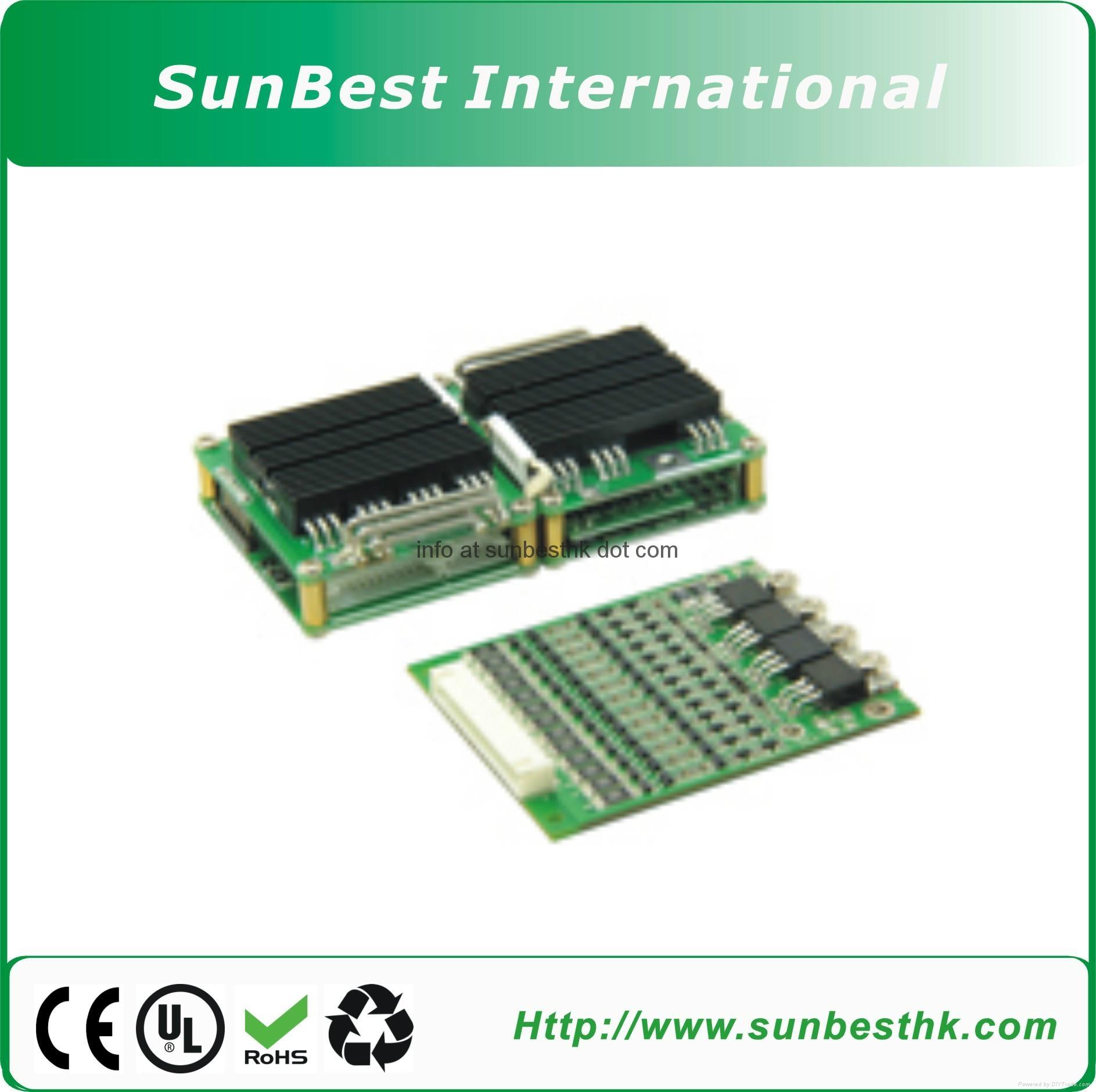 Battery Management System (BMS)  74V20S-118.4V32S Li-ion and Li-Polymer Battery
