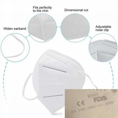 N95 Mask Medical surgical Mask FAD CE PM2.5