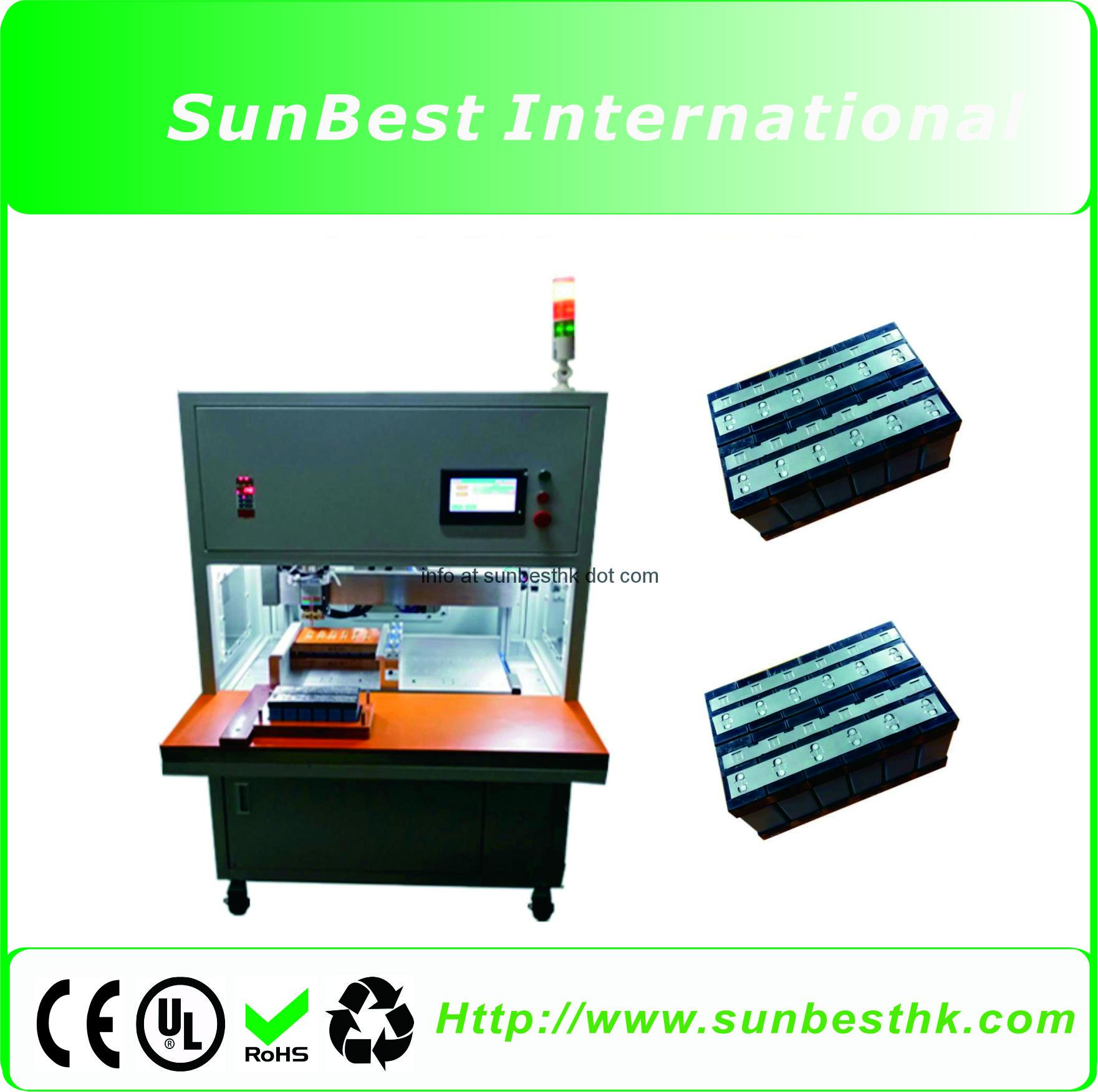 Cylindrical Power Battery Single Side Automatic Spot Welding Machine BSW-950