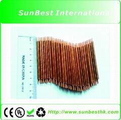 100 PCS Red Copper Electrodes (Φ3mm* 80mm Length) For Laptop Battery Welder