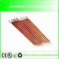 10 PCS Red Copper Electrode (Φ3mm* 80mm