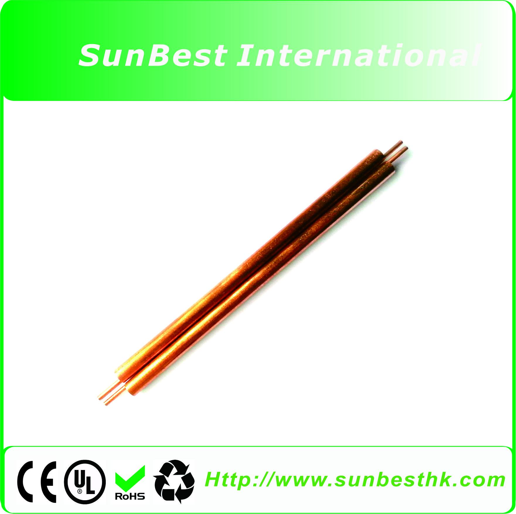 2 PCS Red Copper Electrode (Φ6mm* 150mm Length) For Battery Spot Welder
