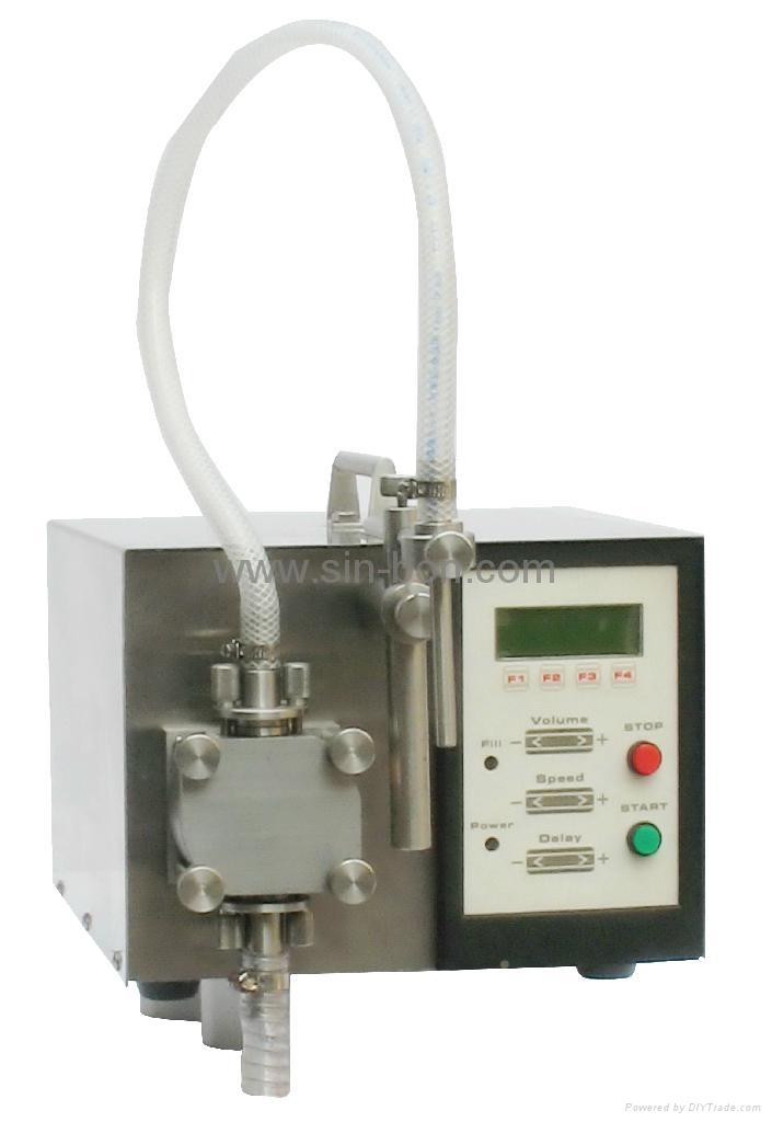 Semi-Auto Liquid Filling Machine