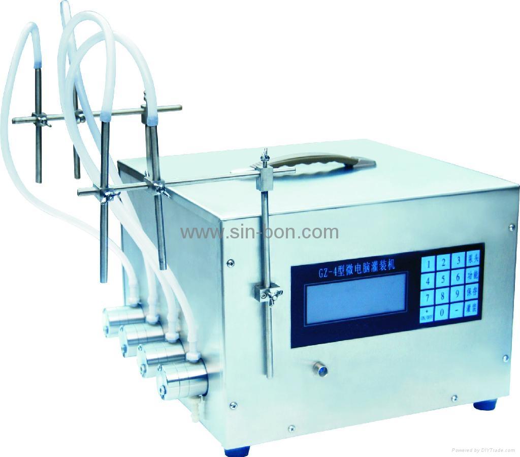 经济型液体灌装机 1