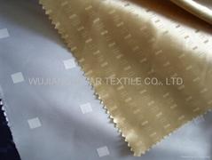 Polyester Jacquard Satin