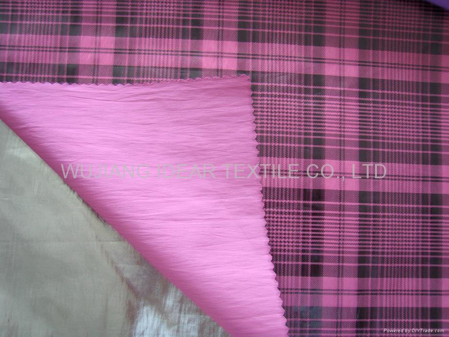 Gilded Nylon Polyester Fabric