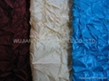 Crinkled Nylon Polyester Fabric