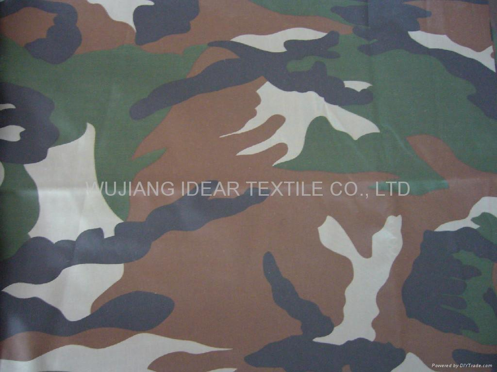 Printed Polyester Oxford Fabric