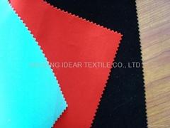涤纶植绒布
