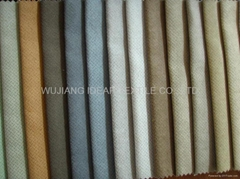 Polyester Stamped Suede