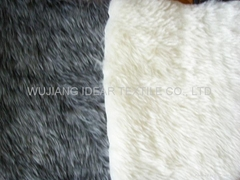 Polyester Fake Woolen Fur Fabric